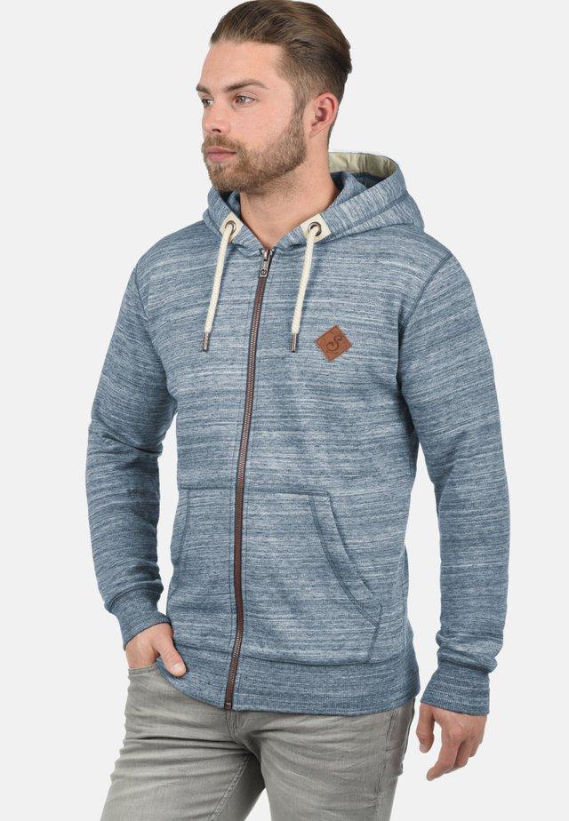 KAPUZENSWEATJACKE CRAIG - Zip-up hoodie - insignia