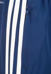 adidas Performance - TIRO 19 WOVEN CLIMALITE PANTS - Spodnie treningowe - dark blue / white - 2