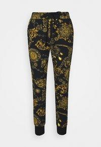 Versace Jeans Couture - PANTS - Tracksuit bottoms - black/gold - 5