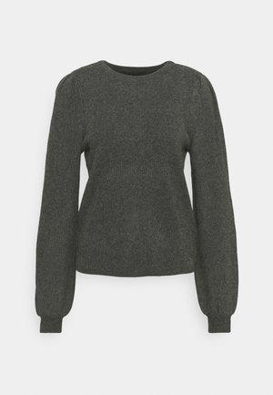 ONLKATIA  - Pulover - dark grey melange
