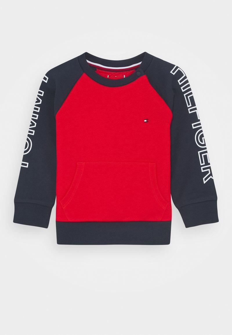 Tommy Hilfiger - BABY COLORBLOCK - Sweatshirt - blue