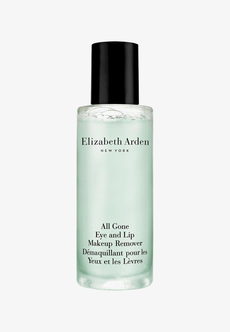 Elizabeth Arden - ALL GONE EYE & LIP MAKEUP REMOVER 100ML - Make-up remover - -