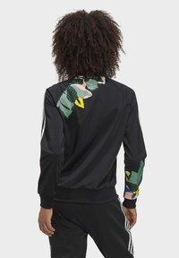 adidas Originals - RACK TOP - Sweatshirt - black - 1