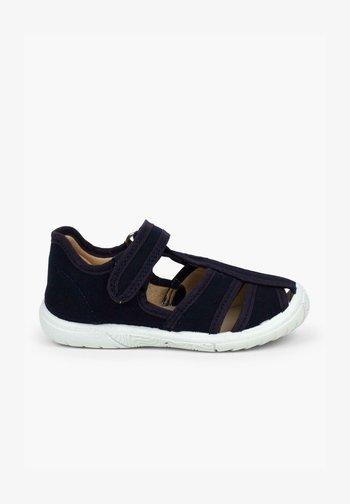 TIRA ADHERENTE - Zapatos de bebé - azul marino