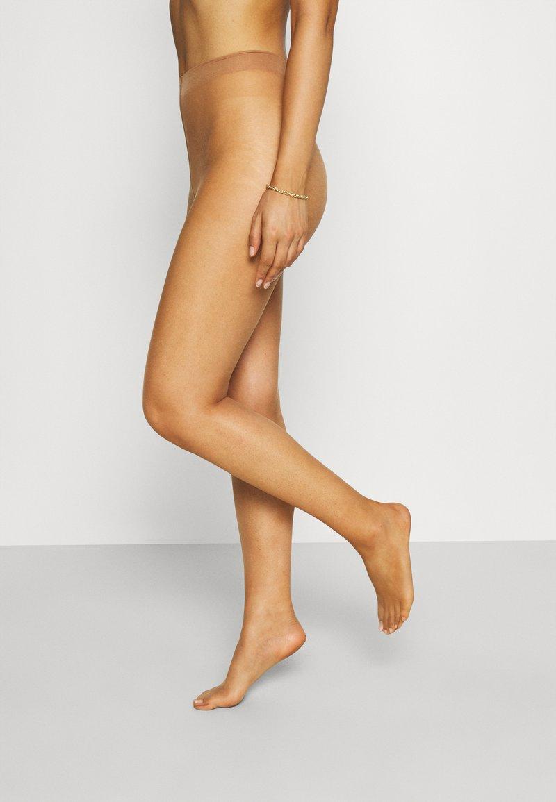 Lindex - TIGHTS 5 DEN BARE LEG - Tights - tan