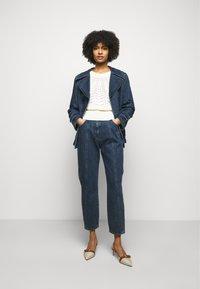 Alberta Ferretti - JACKET - Denim jacket - blue - 1