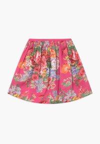 Polo Ralph Lauren - FLORAL BOTTOMS - Áčková sukně - pink/multi-coloured - 1