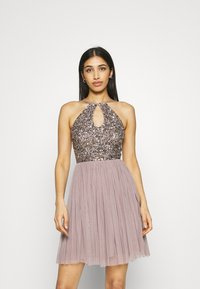 Lace & Beads - ADALYN SKATER - Cocktail dress / Party dress - mauve - 0