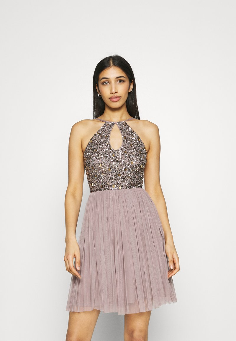 Lace & Beads - ADALYN SKATER - Cocktail dress / Party dress - mauve