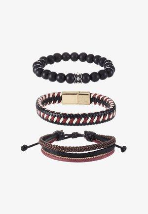 PAUWSTRAAT 3 PACK  - Bracelet - red