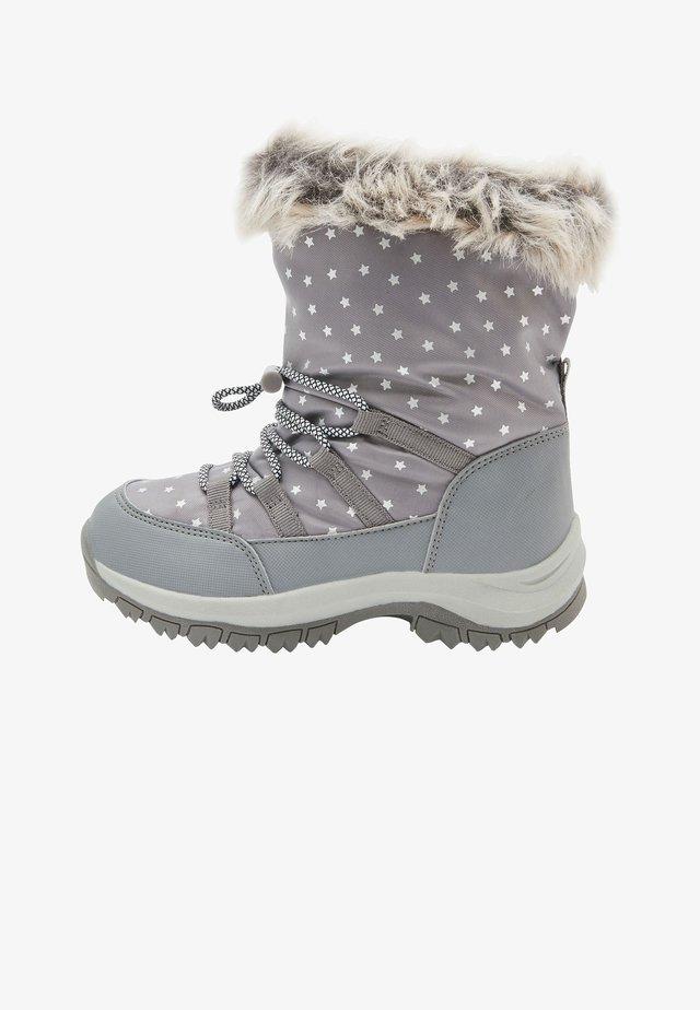 WATERPROOF SNOW - Śniegowce - grey