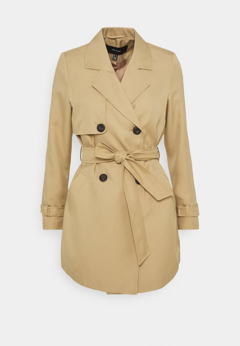 Vero Moda Petite - VMCELESTE  - Trenchcoat - travertine