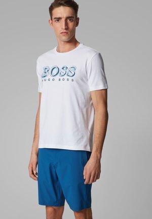 TEE 4 - Print T-shirt - white