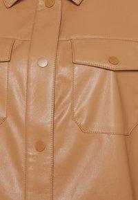 comma - LANGARM - Faux leather jacket - camel - 2