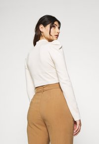 Missguided Petite - PUFF SLEEVE - Jumper - nude - 2