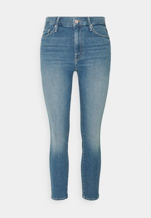 THE LOOKER CROP - Jeans Skinny Fit - light blue