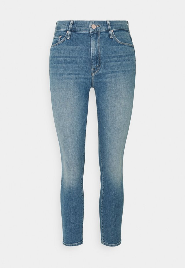 THE LOOKER CROP - Jeans Skinny Fit - light blue