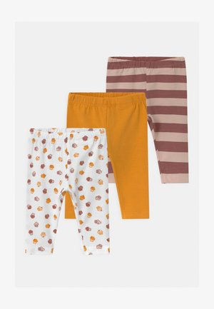 NBFBAILASAN 3 PACK - Leggings - Trousers - peach whip