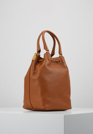 GABRIELLE SOFT BUCKET - Handbag - caramel