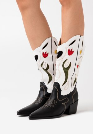VLADA TOP UP - Cowboy/Biker boots - multicolor