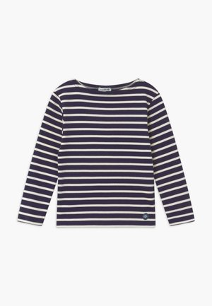 MARINIÈRE LOCTUDY - Long sleeved top - dark blue/off-white