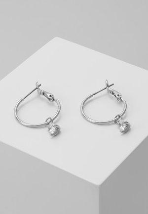 LYNN ROUND EAR  - Earrings - silver
