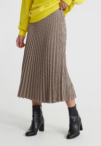 Superdry - A-line skirt - brown - 0
