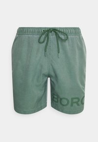 Björn Borg - SHELDON SHORTS - Swimming shorts - duck green - 0