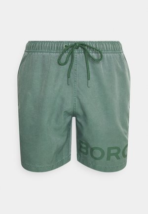 SHELDON SHORTS - Surfshorts - duck green