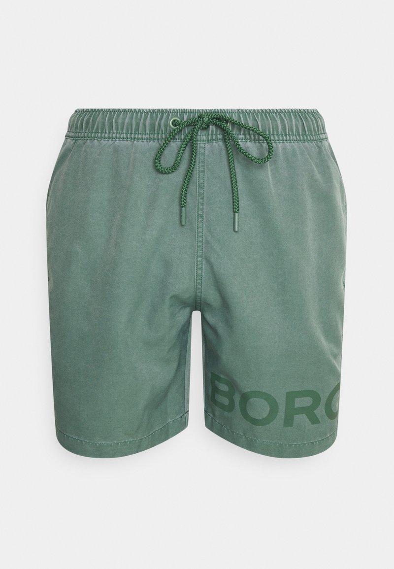 Björn Borg - SHELDON SHORTS - Zwemshorts - duck green