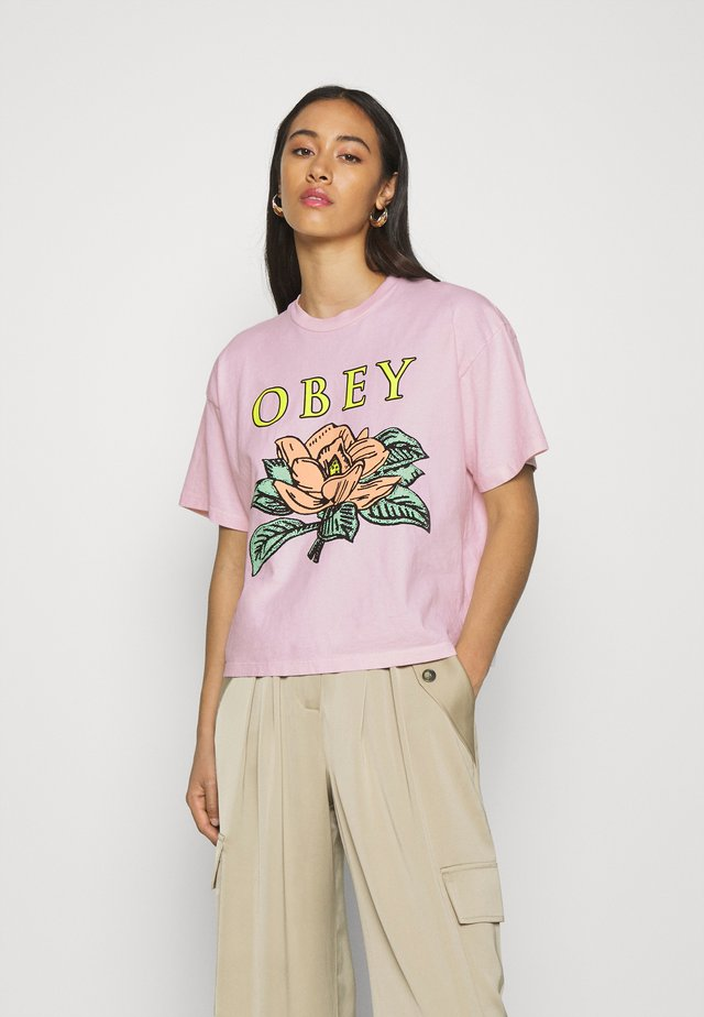 LOTUS FLOWER - Print T-shirt - pink