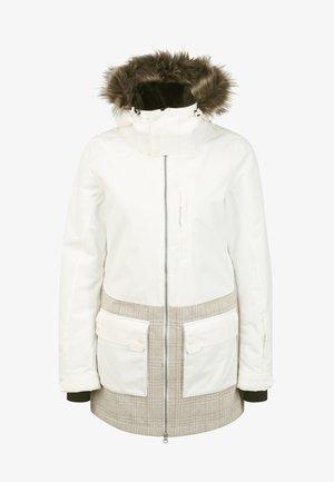 Winter coat - powder white
