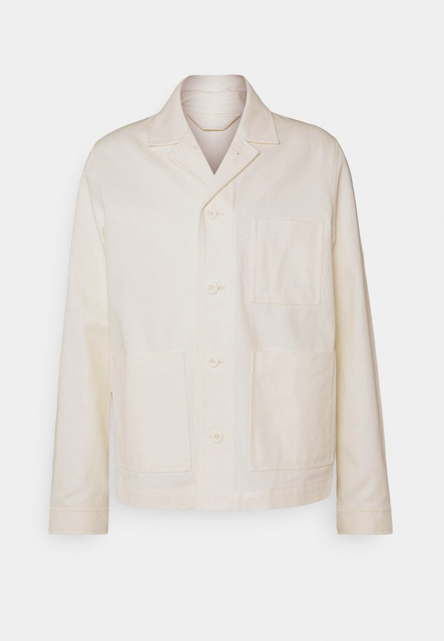 NEW WORKER JACKET - Giacca di jeans - clear cream