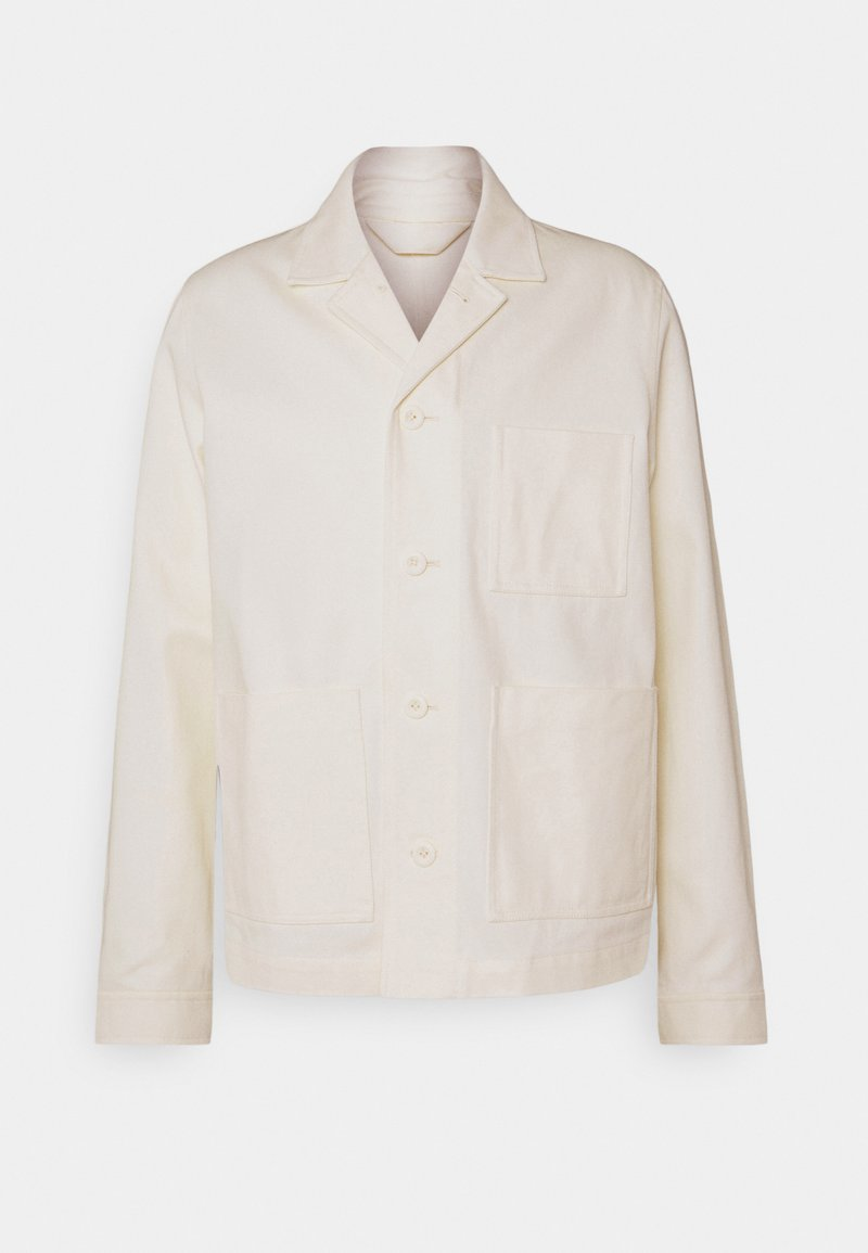 Samsøe Samsøe - NEW WORKER JACKET - Cowboyjakker - clear cream