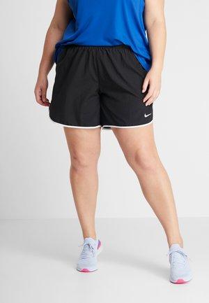 10K SHORT PLUS - Short de sport - black/white/dark grey/wolf grey