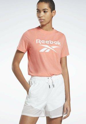 REEBOK IDENTITY LOGO T-SHIRT - Print T-shirt - red