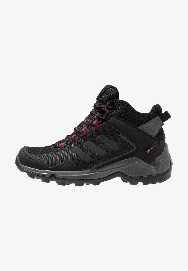 adidas Performance - TERREX EASTRAIL MID GORE-TEX - Fjellsko - carbon/core black/active pink