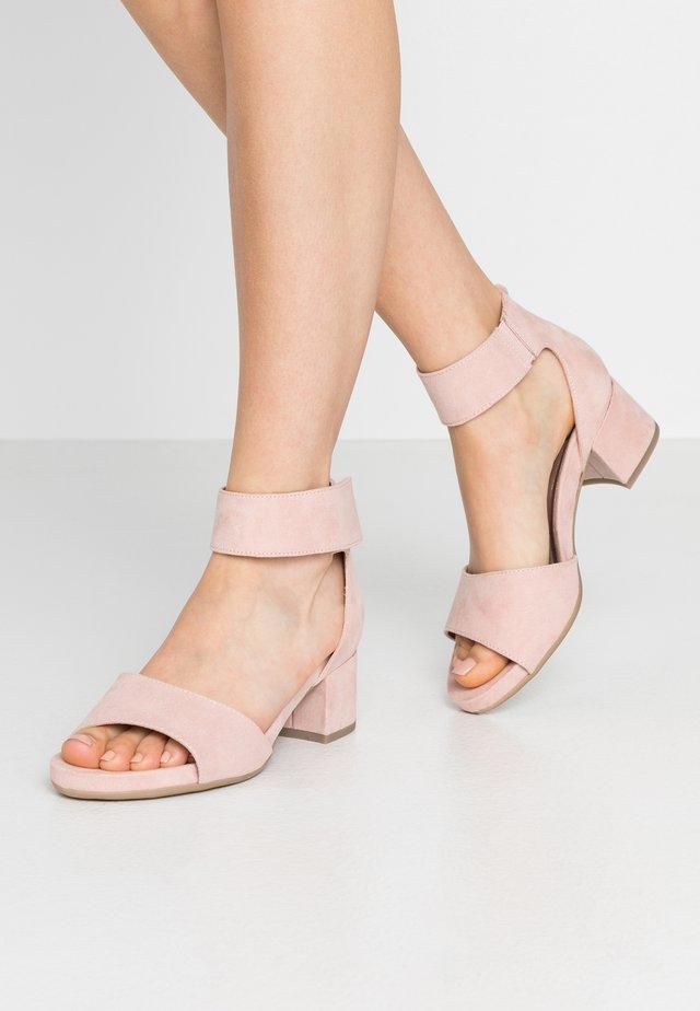 Sandały - rose