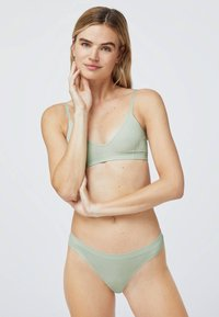OYSHO - Triangle bra - green - 1
