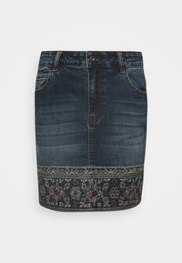 Desigual - FAL DENVER - Gonna di jeans - denim medium - 4