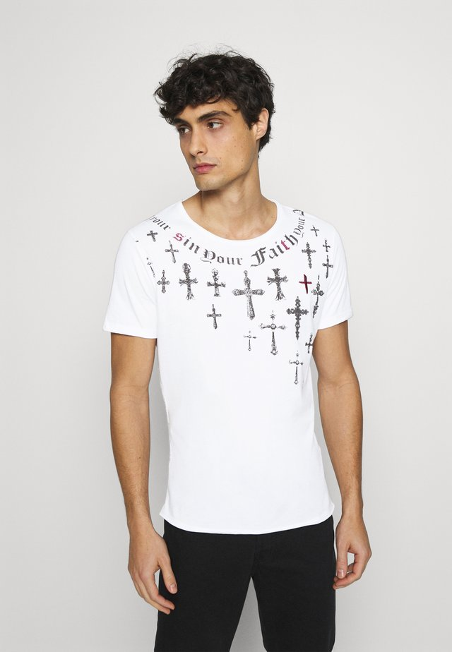 SIN CITY ROUND - T-shirt con stampa - white