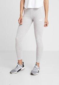 Puma - AMPLIFIED LEGGINGS - Collants - light gray heather - 0