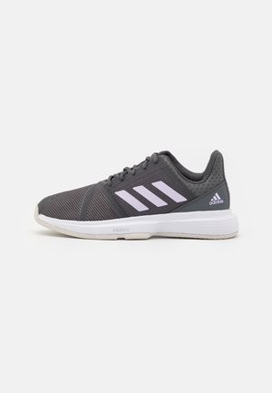 COURTJAM BOUNCE - Multicourt tennis shoes - grey six/purple tint/footwear white