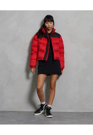 CODE - Down jacket - high risk red