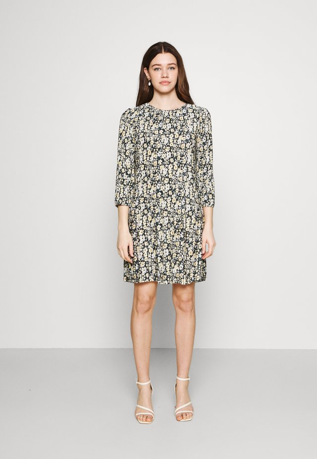 JDYBOA SHORT DRESS - Korte jurk - black/corn