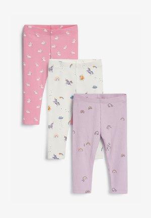 3 PACK - Legging - light pink