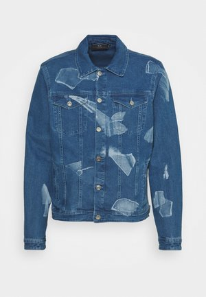 SHARD JACKET - Denim jacket - blue