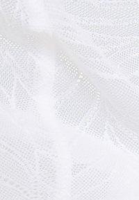 Calvin Klein Underwear - SHEER MARQUEISETTE UNLINED - Kaarituettomat rintaliivit - white - 5