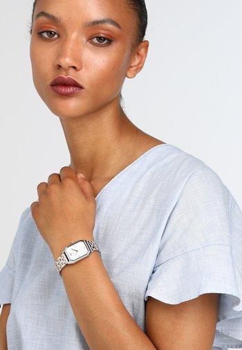 Klokke - roségold/silver-coloured