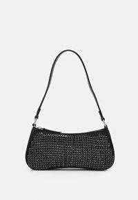 Topshop - ONE SIDED SHOLDER - Handbag - black - 0